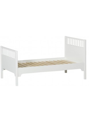 Oliver Furniture Juniorbett / Kinderbett Seaside 90x160 cm Weiß