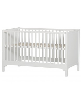 Oliver Furniture Babybett / Umbaubett Seaside 70x140 cm Weiß