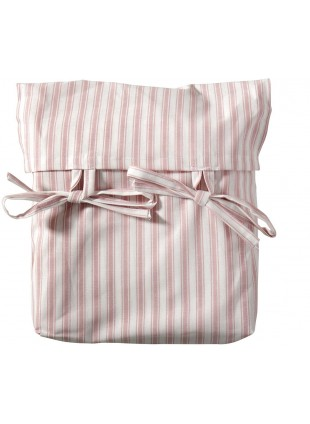 Oliver Furniture Vorhang für Halbhohes Hochbett Seaside Streifen Rosa
