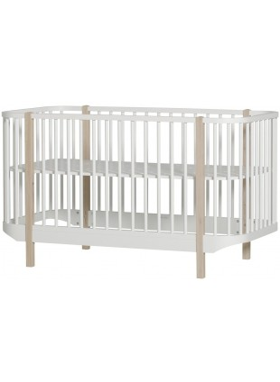 Oliver Furniture Babybett Wood erhöhter Lattenrost