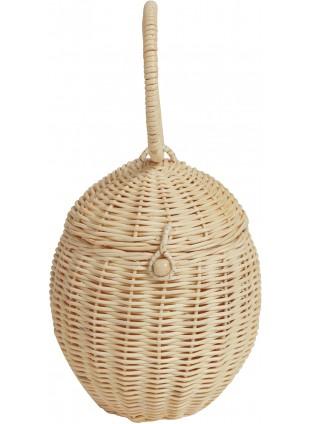 Olli Ella Rattan-Korb Egg