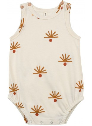 Organic Zoo Sommer Baby-Body Shadows of Nature