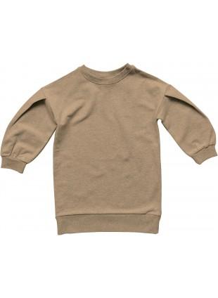 The Simple Folk Fleece-Sweatshirt Oversized Camel