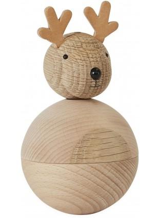 OYOY Deko Holzfigur Rudolf