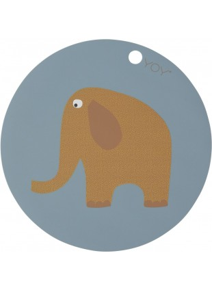 OYOY Kinder Tisch-Set Elefant