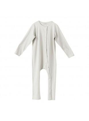 The Simple Folk Overall Perfect Pyjama Naturweiß