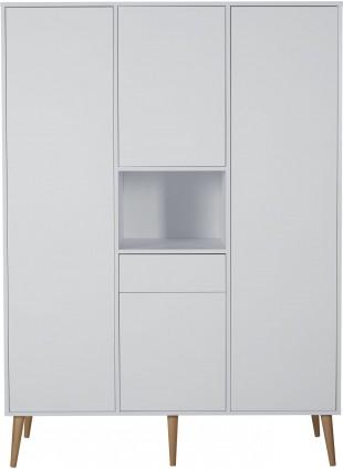 Quax Kleiderschrank XL Cocoon Weiß kaufen - Kleine Fabriek