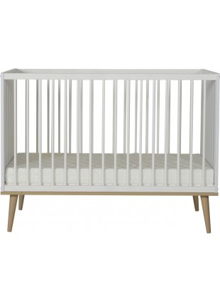 Quax Babybett Flow 60x120 cm White & Oak kaufen - Kleine Fabriek