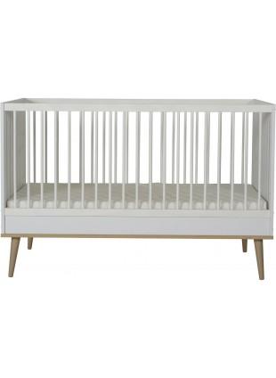 Quax Babybett Flow 70x140 cm White & Oak kaufen - Kleine Fabriek
