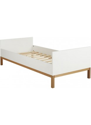 Quax Jugendbett Einzelbett Indigo 90x200 cm Weiß