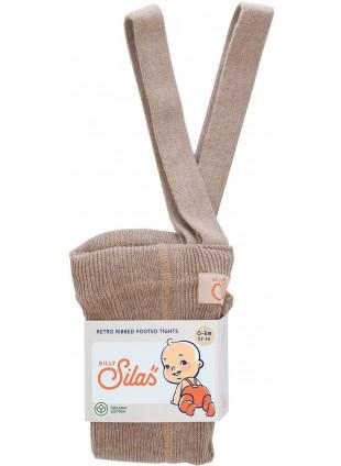 Silly Silas Strumpfhose mit Trägern Peanut Blend