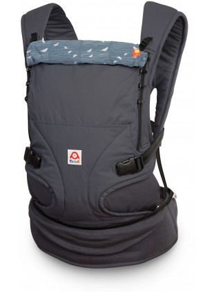 Ruckeli Babytrage Regular Birds Blue