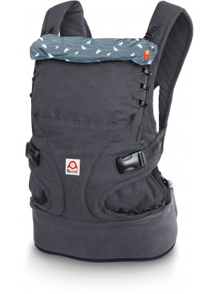Ruckeli Babytrage Birds Blue Regular - Kleine Fabriek