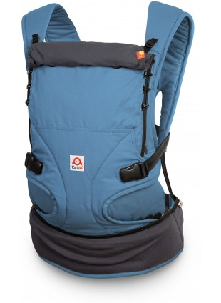 Ruckeli Babytrage Basic Slim Blue & Grey