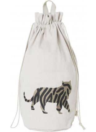 Ferm Living Spielzeugbeutel Safari Tiger