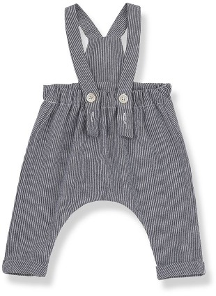 1+ in the family Baby-Latzhose Salerno Pin Stripes Blue Notte