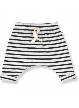 1+ in the family Baby-Hose Sammy Sailor Stripes Blue Notte