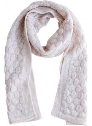 hvid Merino-Schal Fiona für Kinder kaufen - Kleine Fabriek