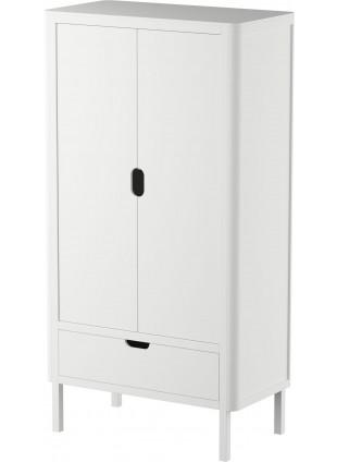 Sebra Kleiderschrank 2-türig Classic White