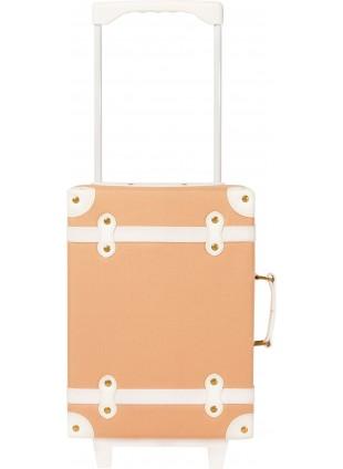 Olli Ella Kinder-Koffer im rosa Vintage-Look kaufen - Kleine Fabriek