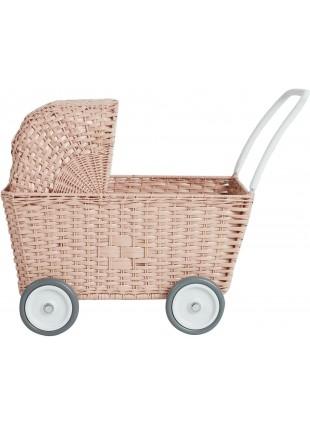 Olli Ella Strolley Puppen-Kinderwagen Einkaufswagen Rose kaufen - Kleine Fabriek