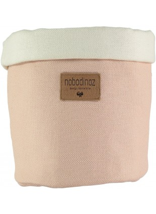 Nobodinoz Stoffkorb Tango Medium in Bloom Pink kaufen - Kleine Fabriek