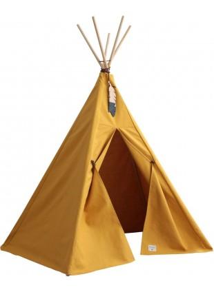 Nobodinoz Pure Line Tipi Spiel-Zelt Nevada Farniente Gelb