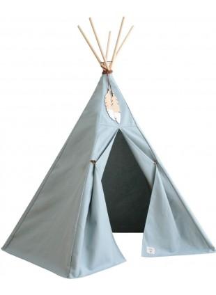 Nobodinoz Pure Line Tipi Spiel-Zelt Nevada Riviera Blau