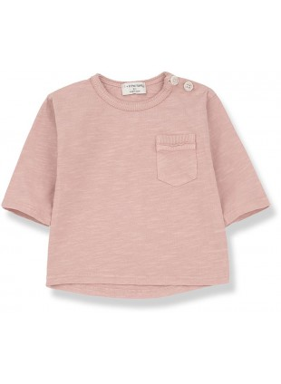 1+ in the family Baby-Shirt Langarm Travi Rose