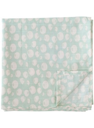 Trixie Baby Muslin Mulltücher 55x55cm Set Balloon Mint