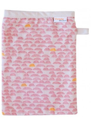 Trixie Baby Muslin Mullwaschlappen Pebble Pink