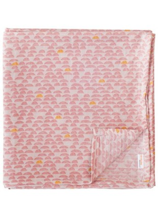 Trixie Baby Muslin Mulltücher 110x110cm Set Pebble Pink