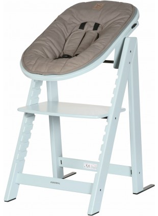 Kidsmill Hochstuhl Up! Baby-Set Soft Green - Kleine Fabriek