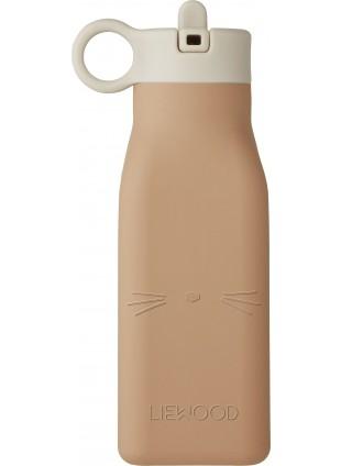 Liewood Silikon Trinkflasche Warren Cat Tuscany Rose