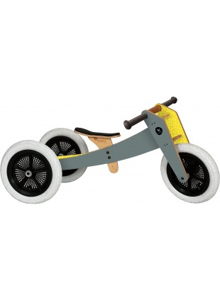 Wishbone Bike 3in1 Laufrad Grau - Kleine Fabriek