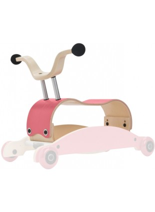 Wishbone Mini-Flip Mix&Match 3in1 Lauflernwagen Pink