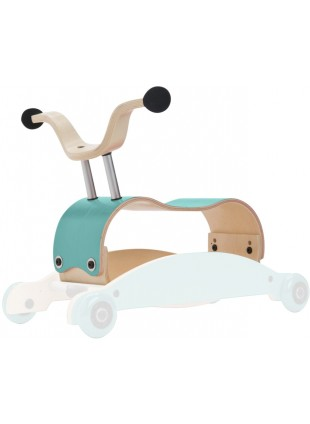 Wishbone Mini-Flip Mix&Match 3in1 Lauflernwagen Aqua