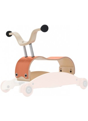 Wishbone Mini-Flip Mix&Match 3in1 Lauflernwagen Orange