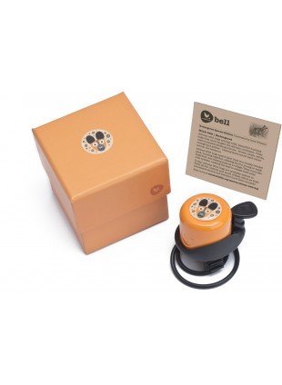 Wishbone Laufradklingel Fahrradklingel Hund Orange - Kleine Fabriek