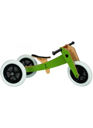 Wishbone Bike 3in1 Green Laufrad Grün