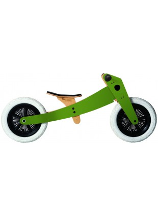 Wishbone Bike 2in1 Green Laufrad Grün