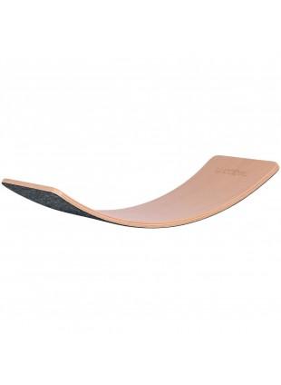 Balanceboard Wobbel Starter Transparent/Mouse - Kleine Fabriek