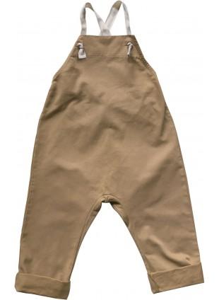 The Simple Folk Latzhose Workman Overall Camel