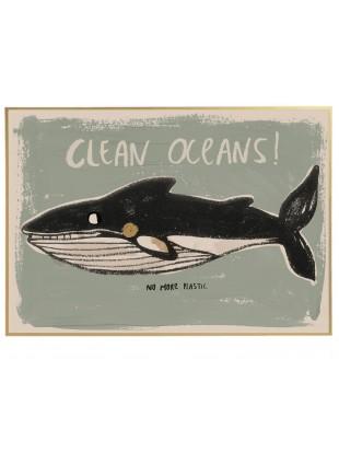 Studio Loco Poster Clean Oceans kaufen - Kleine Fabriek
