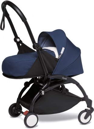BABYZEN YOYO 2 0+ Buggy-Set Air France Schwarz - Dunkelblau