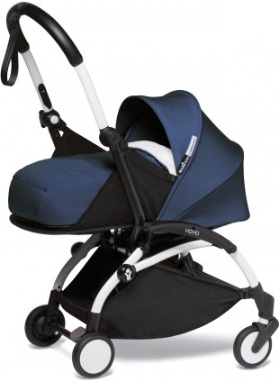 Babyzen Yoyo 2 0+ Buggy-Set Air France Weiß - Dunkelblau
