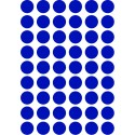 Ferm Living Wand-Sticker Mini Dots Blau - Kleine Fabriek