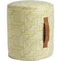 OYOY Hocker Mini Paddy Pouf Cylinder Bamboo