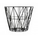 Ferm Living Wire Basket Schwarz S