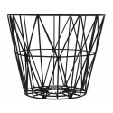 Ferm Living Wire Basket Schwarz M